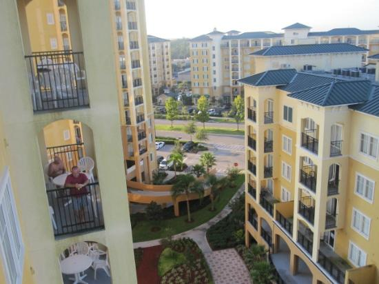 can see outlet mall next door from balcony picture of lake buena rh tripadvisor com