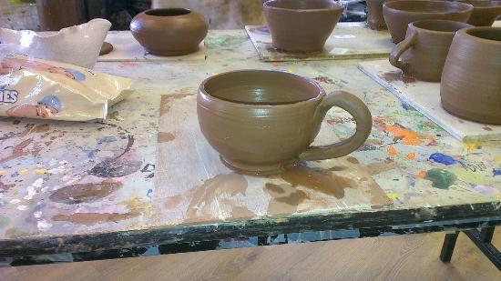 Crafty Monkeys : My tea cup!