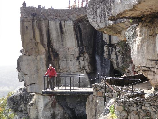 Tennessee Riverpark: Lover's Leap in Rock City