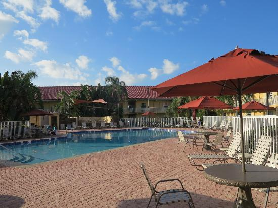 La Quinta Inn Cocoa Beach: Piscine