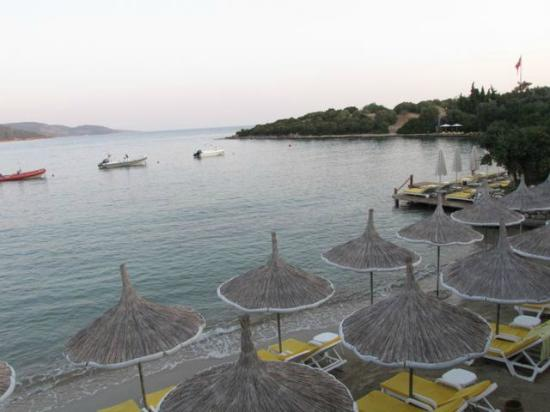 Isil Club Bodrum: view from the pool