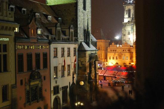 Hotel U Prince: Streetview