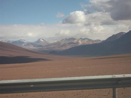Deserto do Atacama: volcanes