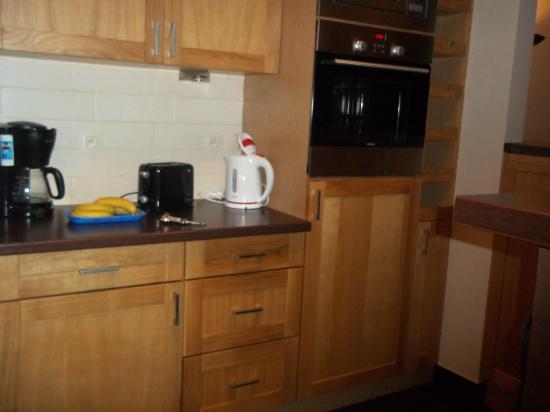 Cucina appartamento Hotel Agenda Louise