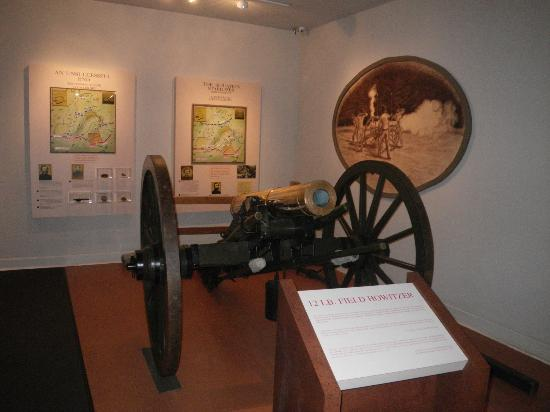 Pickett's Mill Battlefield : more museum