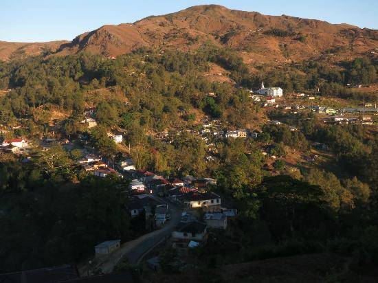 Pousada de Maubisse: View of the town