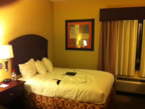 Baymont Inn & Suites Houston Intercontinental Airport: View of one of the beds