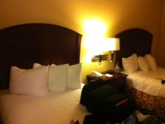Baymont Inn & Suites Houston Intercontinental Airport: Two beds together