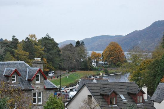 The Lovat, Loch Ness: view from room 9