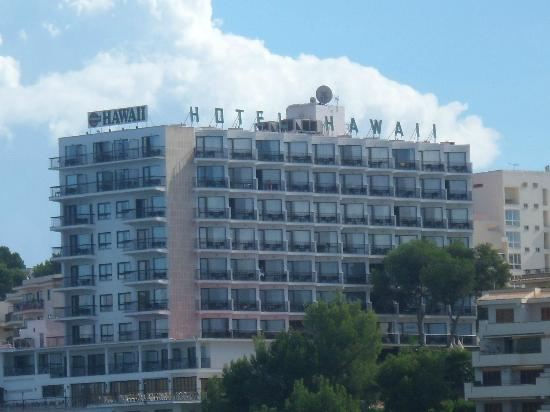 Intertur Palmanova Bay: Hotel from the beach!