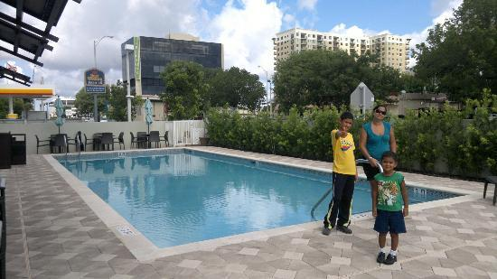 Best Western Premier Miami International Airport Hotel & Suites: pequeña pero muy linda