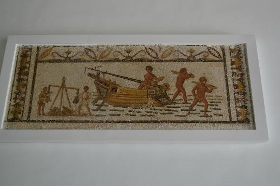 Musée National du Bardo : A mosaic