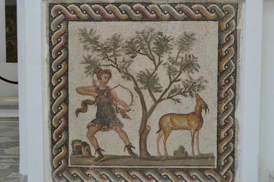 Musée National du Bardo : A mosaic.