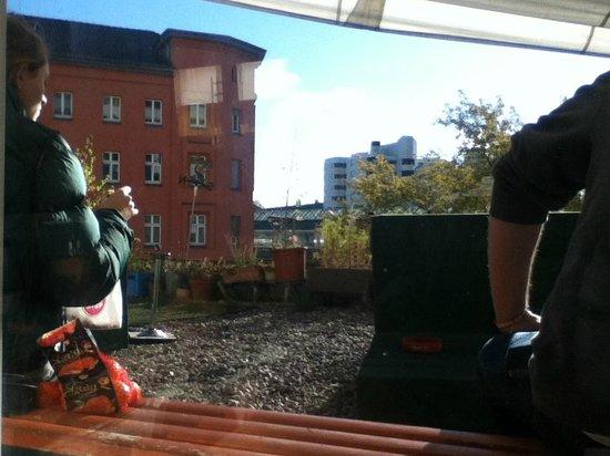 Comebackpackers : Outdoor Terrace
