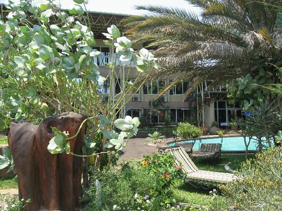 Hotel de charme Hyppocampo: tour de piscine
