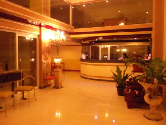 Hotel Uno: nice frontdesk...