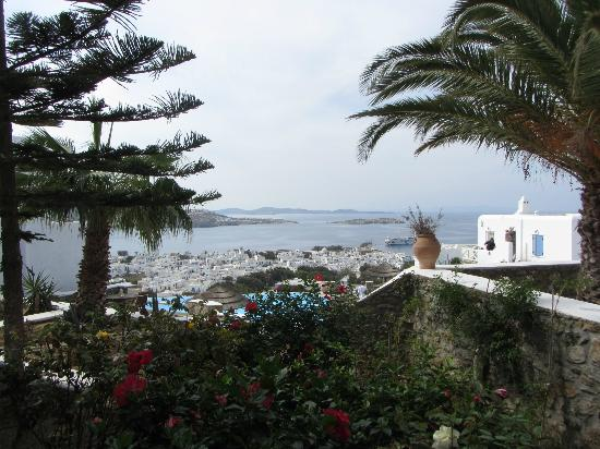 Vencia Hotel: A view from our patio