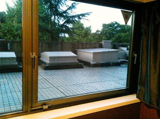 Hotel Park Side: 部屋からの眺め