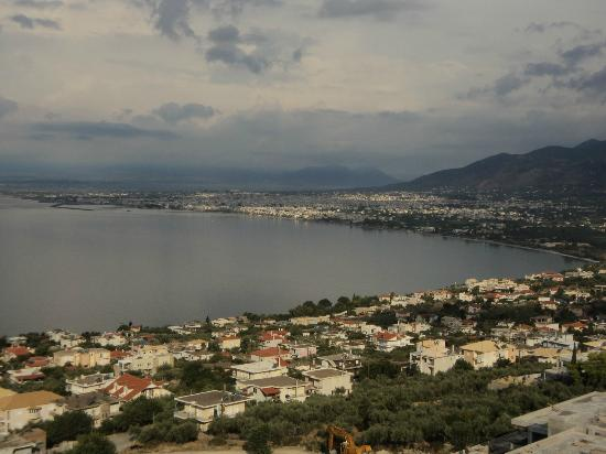 Belvedere Hotel: View of Kalamata bay from the room