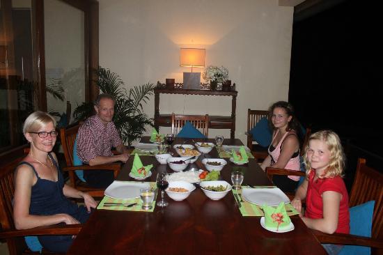 South Point Villa : dinner