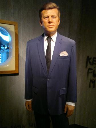 Madame Tussauds Berlin: John F. Kennedy.