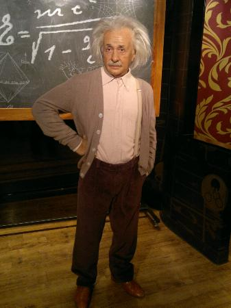 Madame Tussauds: Einstein.