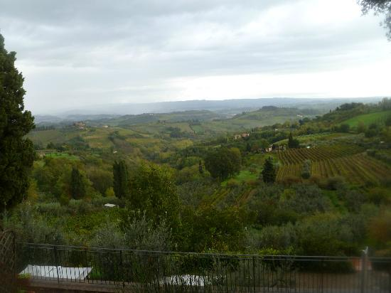 Villa San Filippo Resort: Tuscan Countryside from the Terrace