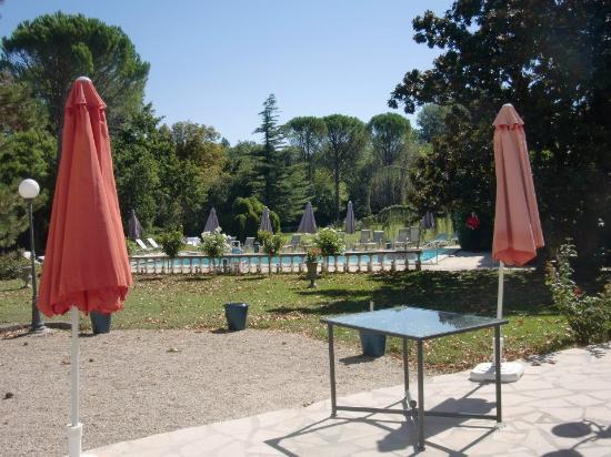 Manoir de la Roseraie: Parc