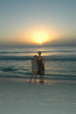 Playacar Palace: Sun Rise on the beach