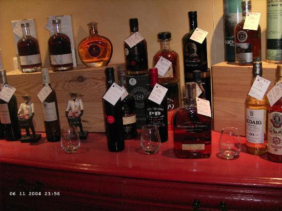 Restaurant l'Oppidum : eine Freude für Whisky-Liebhaber...