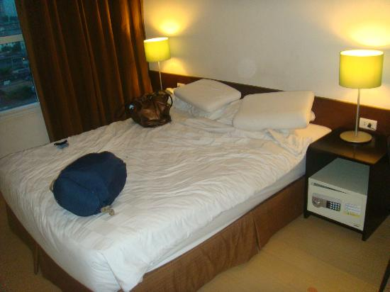 Go Hotels Mandaluyong: very comfortable bed