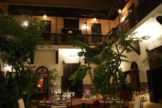 Riad Ilayka: vue du patio