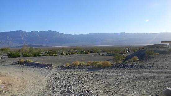 "Panamint Springs Resort: The barren desert across from the ""resort"""