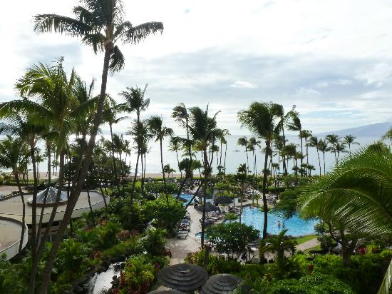 Westin Maui Resort And Spa: View From 3rd Floor Ocean Room View