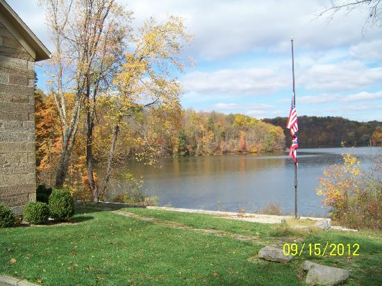 Salt Fork Lodge and Conference Center : View from Kennedy Stone House