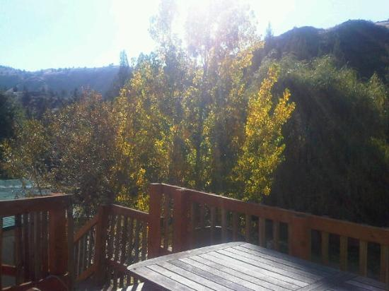 The Lodge at Service Creek: View from porch
