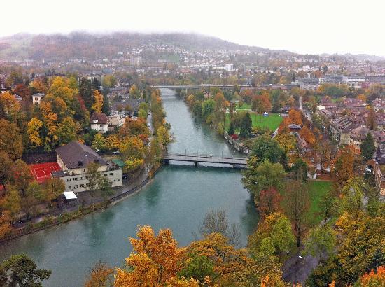 BELLEVUE PALACE Bern: Aussicht aus dem Zimmer