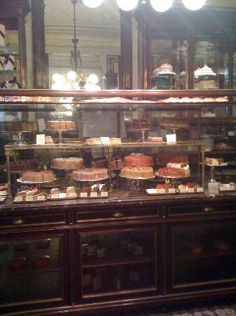 Hotel Sacher Wien: il parait que la Sacher Torte est meilleure ici...