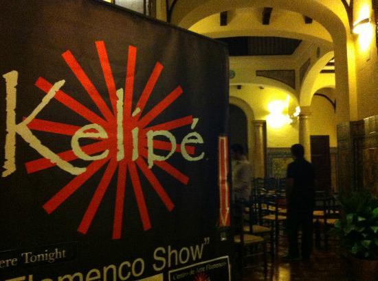 Kelipe Centro de Arte Flamenco: entrance hall