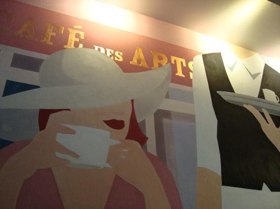 Hotel des Arts Bastille: Recepção
