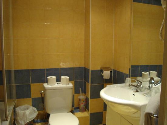 Hotel des Arts Bastille: Banheiro