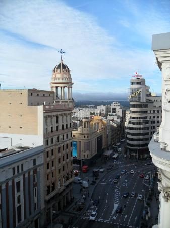 Hotel Atlantico: View from roof top terrace