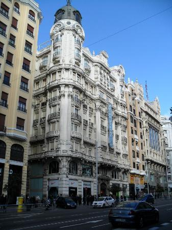 Hotel Atlantico: Outside view