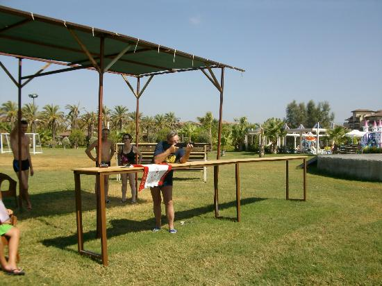 Club Calimera Serra Palace: Le tir à la carabine
