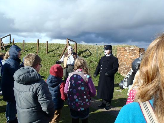 Royal Armouries - Fort Nelson: Ghostly Tour with Colonel Seagrave & Ted