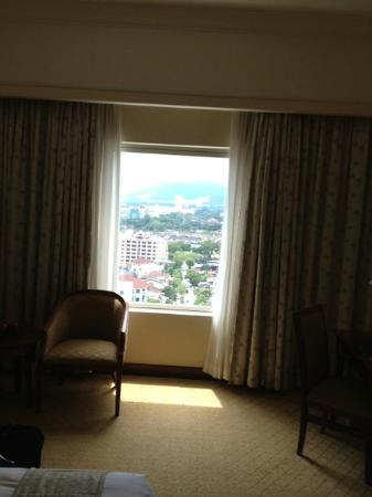 Evergreen Laurel Hotel: Nice View from the 16 floor