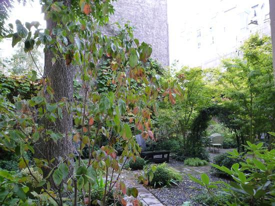 Hotel Regent's Garden: Ausblick Zimmer