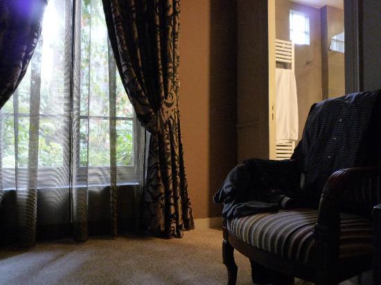 Hotel Regent's Garden: etwas zu dunkles Zimmer