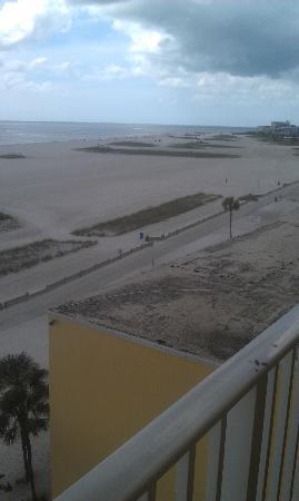 Bilmar Beach Resort : View looking north from balcony.