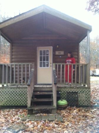 Explore Brown County at Valley Branch Retreat: Babbling Brook cabin